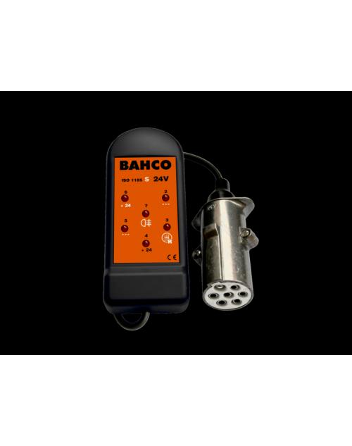 Soket test cihazı 7 PIN 24V (24S)